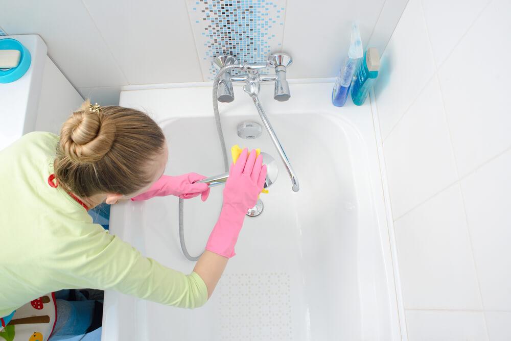 浴缸刮痕除去後,仍然需要日常保養