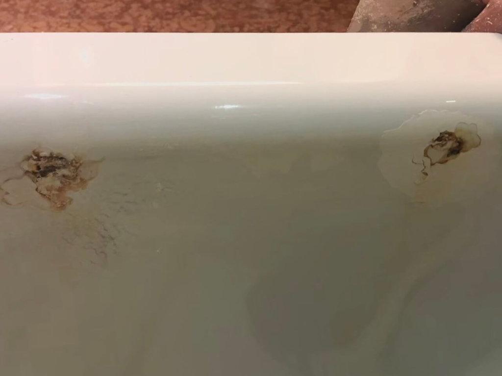浴缸補修前比對
