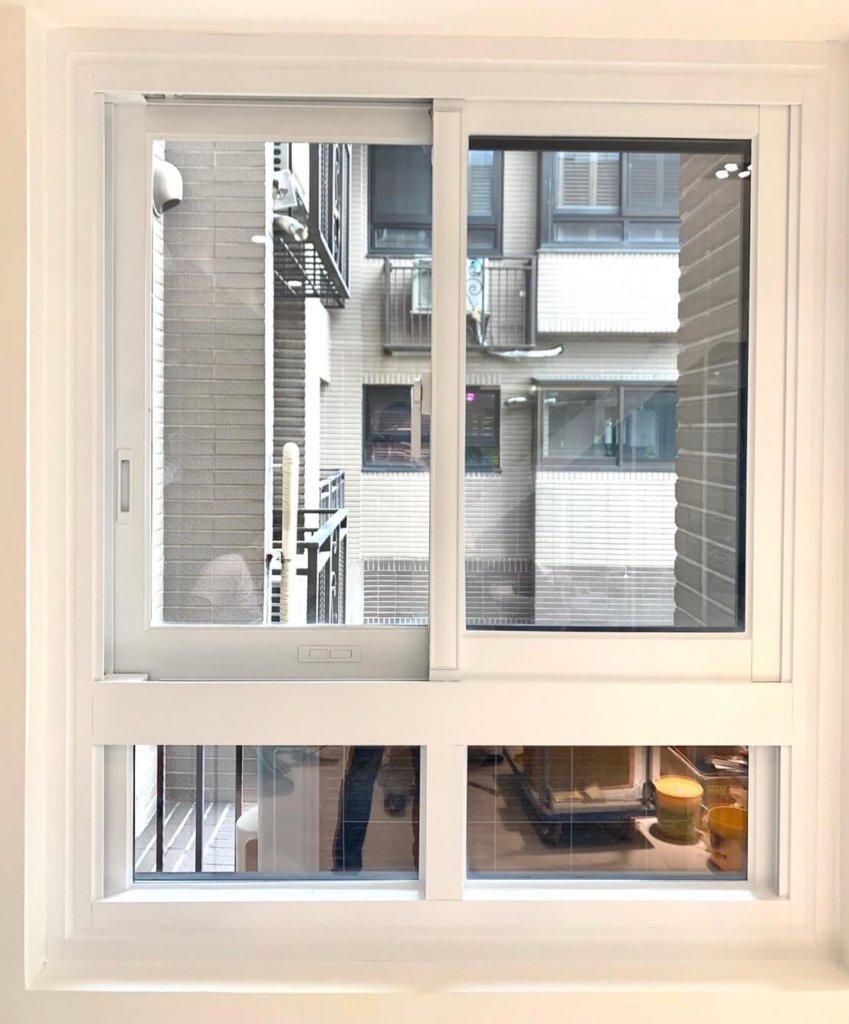磐頤機構:翻新鋁窗顏色後