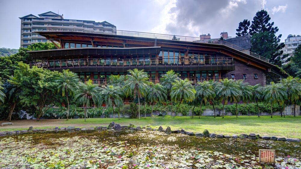 綠建築台灣:北投圖書館